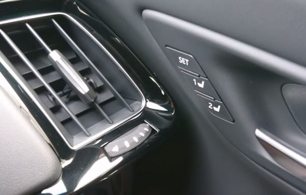 新型クラウン内装ドライビングポジション記憶